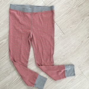 J.Crew NWT Waffle Knit Leggings Striped Pants XL